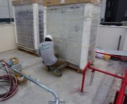 instalacion sistema de aire acondicionado clinica good hope en lima peru airson ingenieros 7
