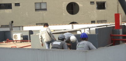 instalacion sistema de aire acondicionado clinica good hope en lima peru airson ingenieros 9